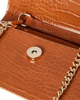 TAN CROC WOMENS ACCESSORIES BILLINI BAGS + BACKPACKS - HB16TAN