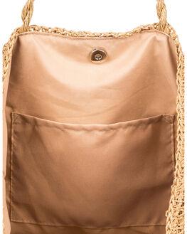 NATURAL WOMENS ACCESSORIES ROXY BAGS + BACKPACKS - ERJBT03145-YEF0