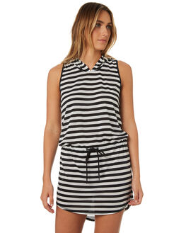 STRIPE WOMENS CLOTHING HURLEY DRESSES - AGDSDFHD00A