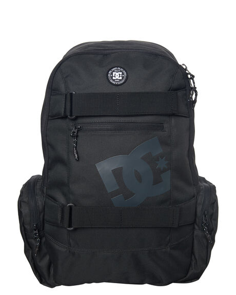 BLACK MENS ACCESSORIES DC SHOES BAGS + BACKPACKS - EDYBP03135BLK