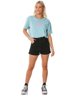 POOLSIDE WOMENS CLOTHING RUSTY TEES - TTL0956PDE