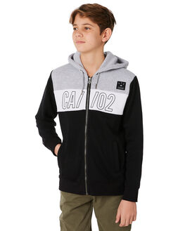BLACK KIDS BOYS ST GOLIATH JUMPERS + JACKETS - 2414012BLK