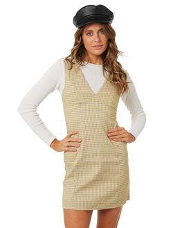 MULTI YEL WOMENS CLOTHING MINKPINK DRESSES - MP1802463MULT