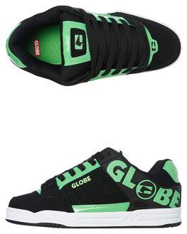 POISON BLACK MENS FOOTWEAR GLOBE SNEAKERS - GBTILT_19575