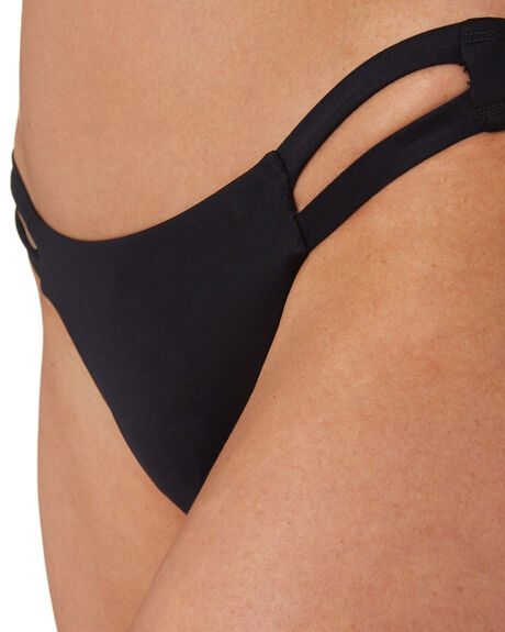 BLACK ECO LUXE OUTLET WOMENS VITAMIN A BIKINI BOTTOMS - 42BECB