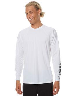 WHITE SURF RASHVESTS XCEL MENS - MLM42615WHT