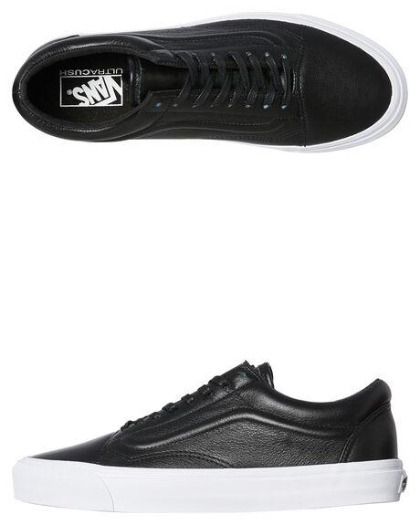 BLACK MENS FOOTWEAR VANS SKATE SHOES - SSVNA3MUROR7BLKW