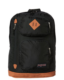 BLACK MENS ACCESSORIES JANSPORT BAGS - JST13Y_JS008BLK