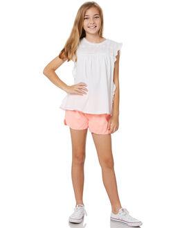 WHITE KIDS GIRLS EVES SISTER TOPS - 9920028WHT