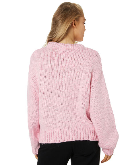 PINK WOMENS CLOTHING RPM KNITS + CARDIGANS - 21AW15BPINK