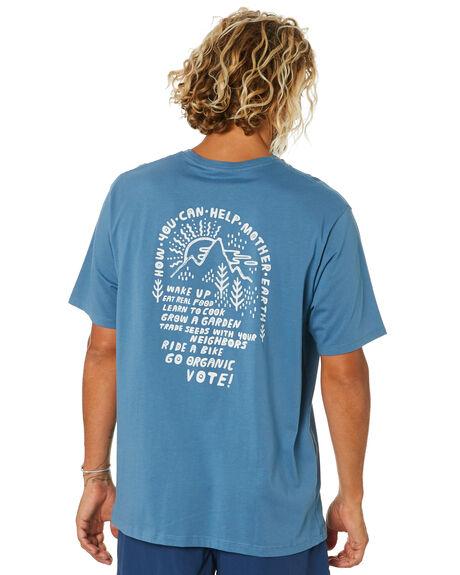 PIGEON BLUE MENS CLOTHING PATAGONIA TEES - 38530PGBE