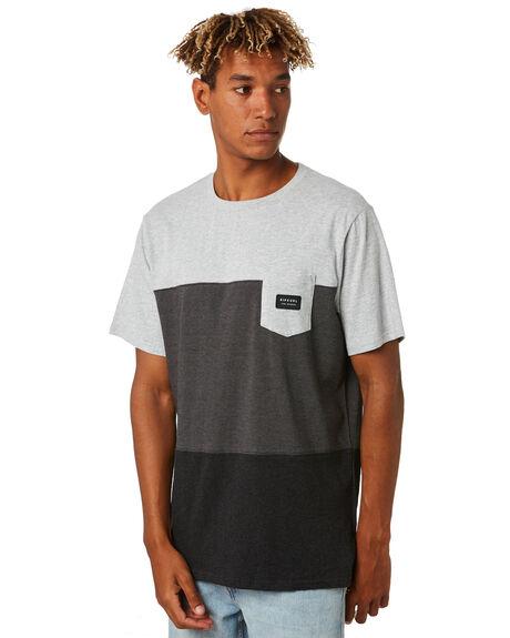 BLACK MENS CLOTHING RIP CURL TEES - CTETP20090