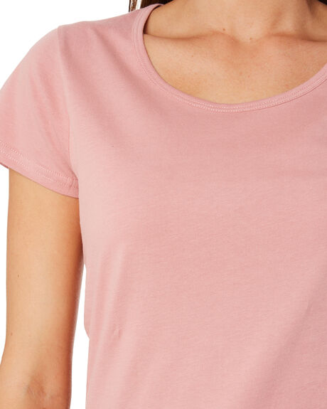 ROSE WOMENS CLOTHING AS COLOUR TEES - 4008ROSE