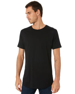 BLACK MENS CLOTHING SILENT THEORY TEES - 4085000BLK