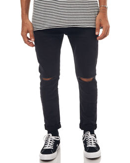HARD ON BLACK MENS CLOTHING ROLLAS JEANS - 151193252