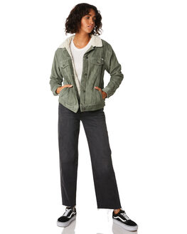 SAGE WOMENS CLOTHING RVCA JACKETS - R293436SAG