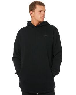 BLACK MENS CLOTHING RVCA JUMPERS - R193151BLK