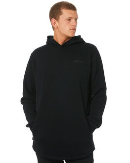 BLACK MENS CLOTHING RVCA JUMPERS - R193151BLK