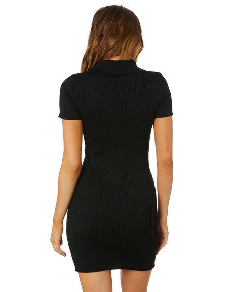 BLACK WOMENS CLOTHING SHAREEN DRESSES - KD01492BLK