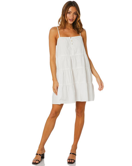 WHITE WOMENS CLOTHING SNDYS DRESSES - SFD390SHWHT