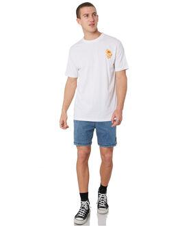 WHITE MENS CLOTHING SANTA CRUZ TEES - SC-MTD9349WHT