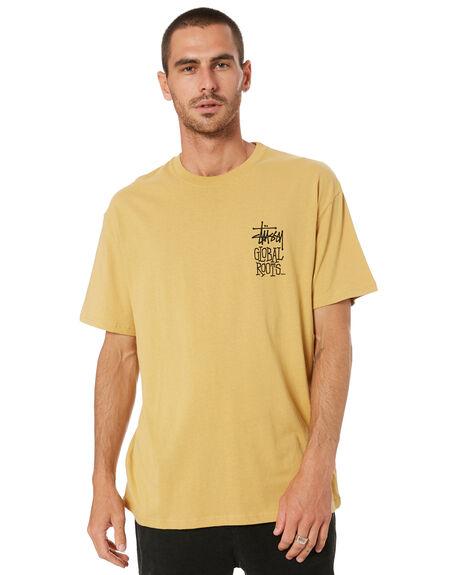 MUSTARD MENS CLOTHING STUSSY TEES - ST001000MST