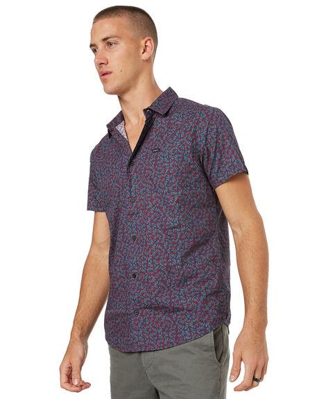 DARK DENIM MENS CLOTHING RVCA SHIRTS - R372181DDNM