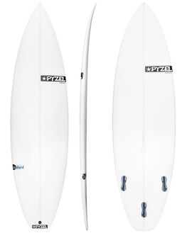 CLEAR BOARDSPORTS SURF PYZEL SURFBOARDS - PYBASTARDCLR