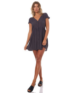 BLACK SANDS WOMENS CLOTHING BILLABONG DRESSES - 6571486BLKS