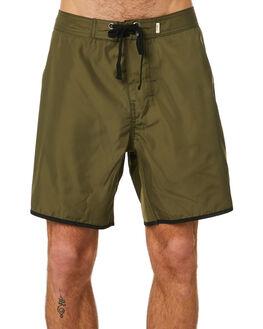 DARK OLIVE MENS CLOTHING THRILLS BOARDSHORTS - TA20-310FDOLV