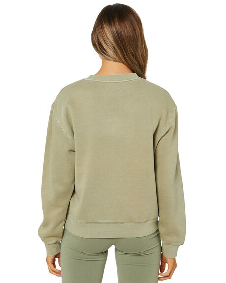 WASHED SAGE WOMENS CLOTHING NUDE LUCY JUMPERS - NU24188WSAGE