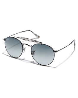 BLACK UNISEX ADULTS RAY-BAN SUNGLASSES - 0RB3747BLK