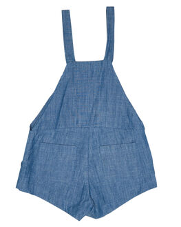 CHAMBRAY KIDS TODDLER GIRLS SWEET CHILD OF MINE PLAYSUITS + OVERALLS - JORDYOVER-CHA