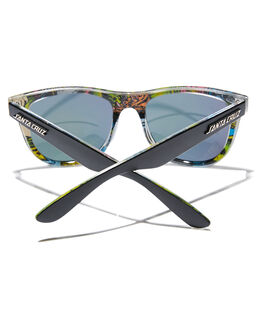BLACK BLUE MENS ACCESSORIES SANTA CRUZ SUNGLASSES - SC-MAC9320-3BLBLKBL