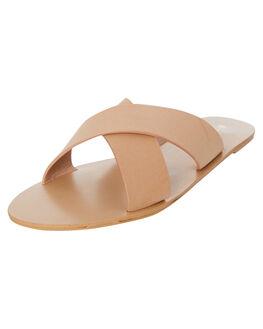 CAMEL NUBUCK WOMENS FOOTWEAR BILLINI FASHION SANDALS - S405CAMEL