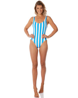 SEA STRIPE WOMENS SWIMWEAR SOLID AND STRIPED ONE PIECES - WS-1024-1227SEAST