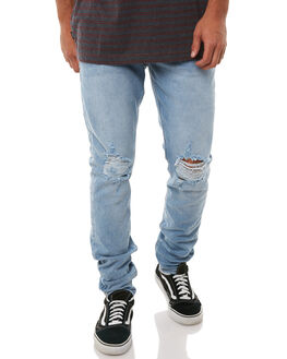 CLEAR WATERS BLOWOUT MENS CLOTHING ZIGGY JEANS - ZM-1325CLWBL