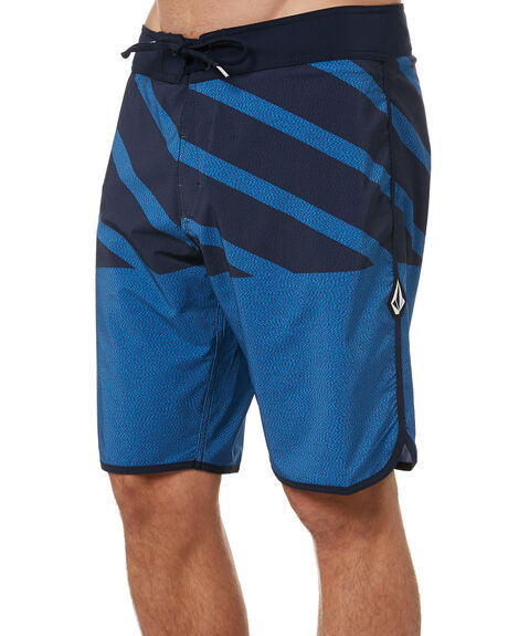 BALLPOINT BLUE MENS CLOTHING VOLCOM BOARDSHORTS - A0812115BPB