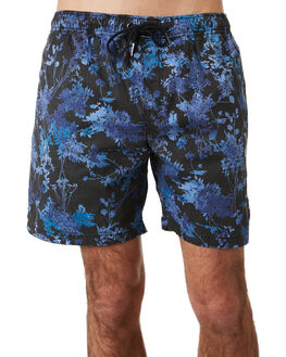 NIGHT FLORAL MENS CLOTHING THE PEOPLE VS BOARDSHORTS - HS19043NFLOR
