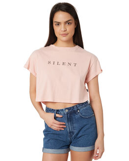 PINK WOMENS CLOTHING SILENT THEORY TEES - 6022033PNK
