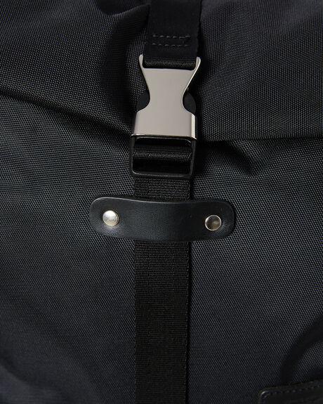 BLACK MENS ACCESSORIES HARVEST LABEL BAGS + BACKPACKS - HLO-0945-BLK