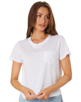 WHITE WOMENS CLOTHING AS COLOUR TEES - 4046WHT