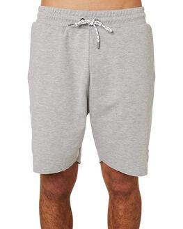 GREY MARL MENS CLOTHING RPM SHORTS - 8SMB04BGREY