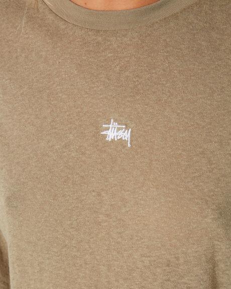 MUSHROOM WOMENS CLOTHING STUSSY TEES - ST191001MUSH