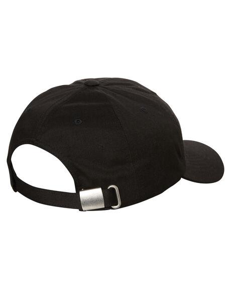 BLACK MENS ACCESSORIES VOLCOM HEADWEAR - D5511805BLK