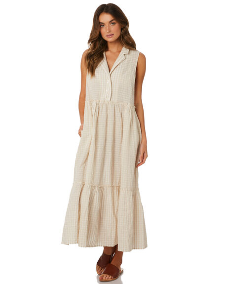 NEUTRAL WOMENS CLOTHING FREE PEOPLE DRESSES - OB921653-1020