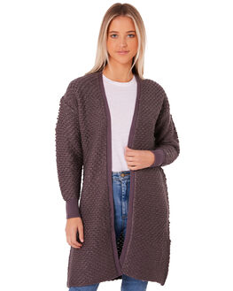 CHARCOAL WOMENS CLOTHING ALL ABOUT EVE KNITS + CARDIGANS - 6414040CHAR