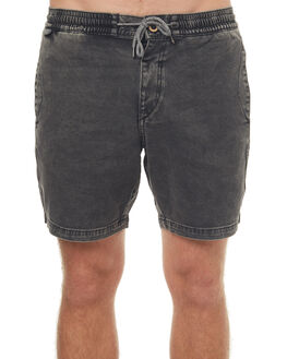 BLACK MENS CLOTHING VOLCOM SHORTS - A1041700BLK