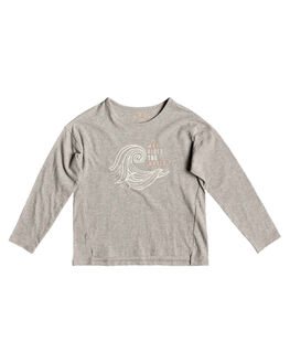 HERITAGE HEATHER KIDS GIRLS ROXY TOPS - ERLZT03204-SGRH