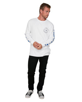 WHITE MENS CLOTHING QUIKSILVER TEES - EQYZT05735-WBB0